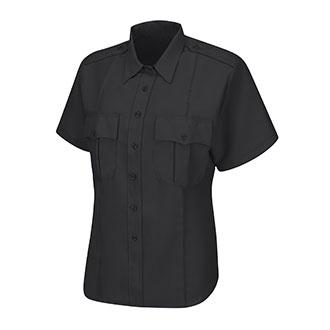 Horace Small Women's Short Sleeve Sentry Zipper Shirt