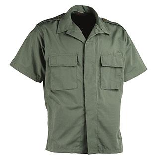Galls Short Sleeve Poly Cotton Ripstop BDU Shirt