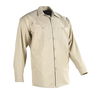 Red Kap Poly Cotton Long Sleeve Work Shirt
