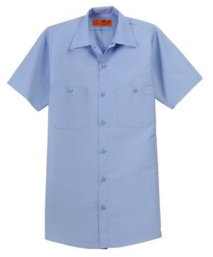 Red Kap Short Sleeve Industrial Work Shirt