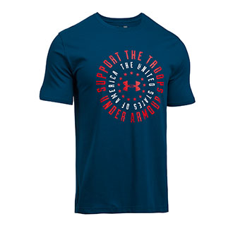 Under Armour Freedom Support The Troops T-Shirt