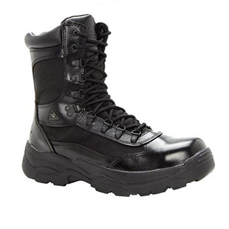 Rocky Fort Hood Zipper Boot