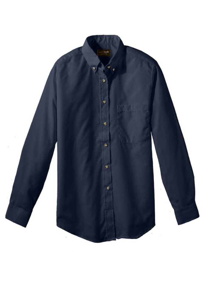 Edwards Women's Long Sleeve Button Down Oxford Shirt