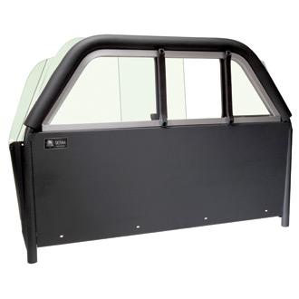 Setina Security Screen with Plexiglass Lockable Slide Window