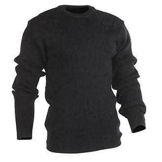 Tact Squad Acrylic Crewneck Commando Sweater with Mic Holder