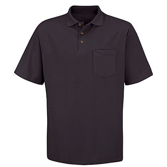 Red Kap Short Sleeve Deluxe Poly Cotton Pique Polo