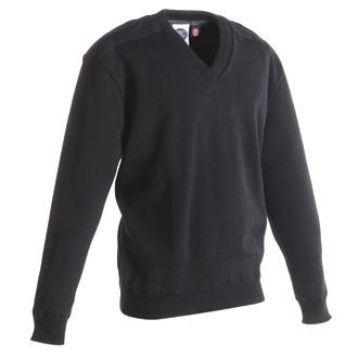 PSC Uniform Apparel V Neck Jersey Knit Commando Sweater with