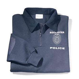 Galls Custom Reflective Firefighter Workshirt with Fleece Co