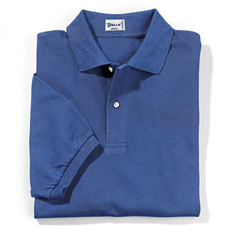 Galls Men's Short Sleeve Cotton Pique Knit Polo