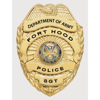 Smith & Warren U.S. Army Police Badge
