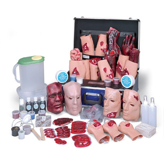 Simulaids Deluxe EMT Casualty Simulation Kit