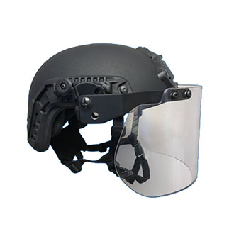 United Shield Riot Face Shield with Rail Adapter