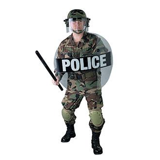 Paulson Round Riot Shield