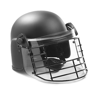 Premier Crown JCR100C Riot Duty Helmet with Steel Grid