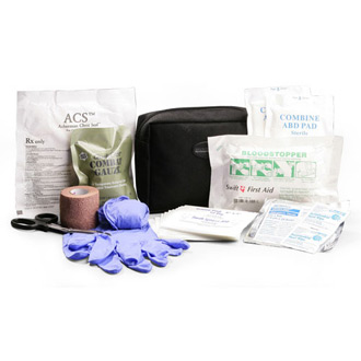 Dyna Med MOLLE Pouch Gunshot Trauma Kit with QuikClot Combat