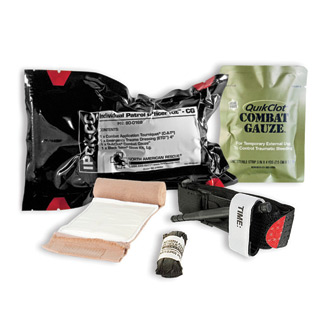 North American Rescue IPOK with Combat Gauze