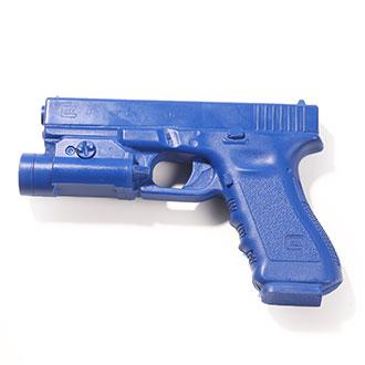BLUEGUNS Glock 17 with TLR1 Tactical Light Training Gun