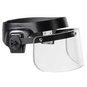 ProTech Tactical Ballistic Face Shield (Single-Hit Shield)
