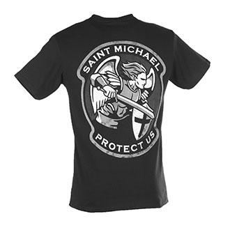 Mil Spec Monkey Saint Michael T Shirt