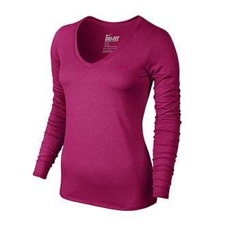 Nike Women's Legend V-Neck Long Sleeve Shirt