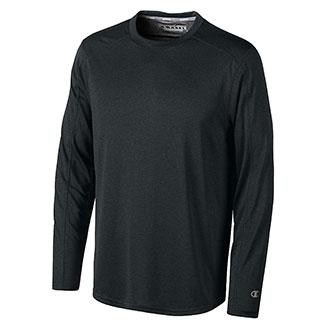 Champion PowerTrain Vapor Heathered Long Sleeve T-Shirt