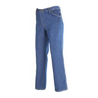 Red Kap Men's Pre-Washed Indigo Denim Jeans