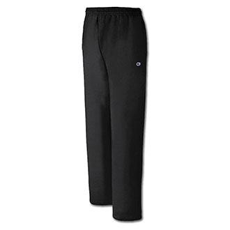 Champion Eco Fleece Double Dry Open Bottom Sweatpants