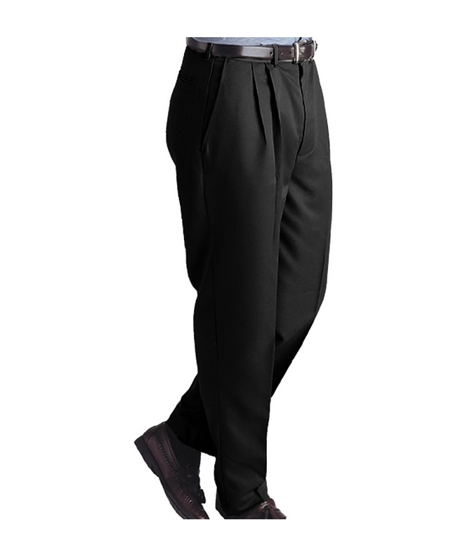 Edwards Men's Pleated Micro-Fiber Pant