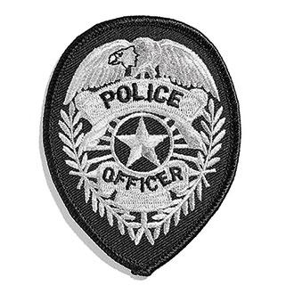 Hero's Pride Standard Police Shield Emblem