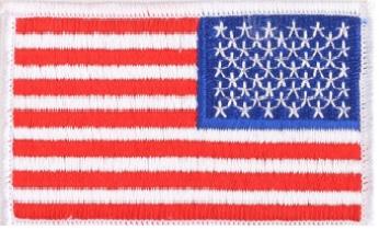 LawPro Reversed US Flag Emblem