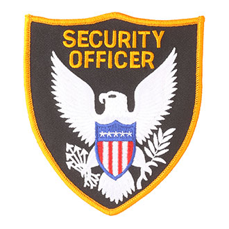 Hero's Pride Security Officer Patch