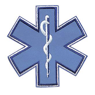 Penn Emblem Star of Life Reflective Emblem