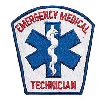Penn Emblem EMT w/ Star of Life Standard Emblem