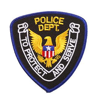 Penn Emblem Standard Police Department Emblem