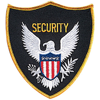 Penn Emblem Security Eagle Standard Emblem