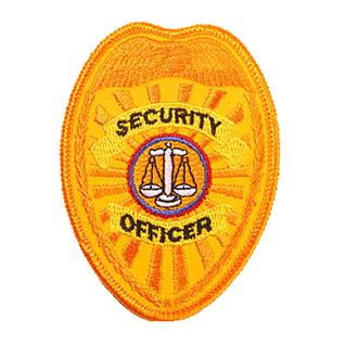 Penn Emblem Security Officer Reflective Emblem