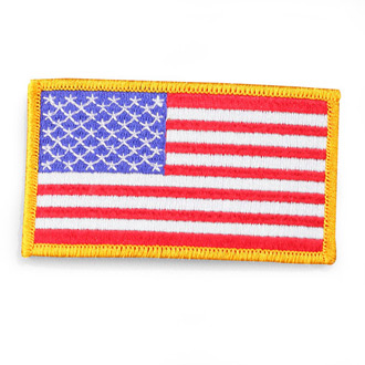 Penn Emblem American Flag Emblem for Left Sleeve