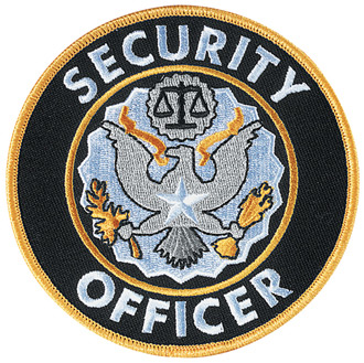Penn Emblem Security Officer Emblem round