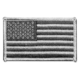 Hero's Pride Subdued American Flag Emblem for Left Sleeve