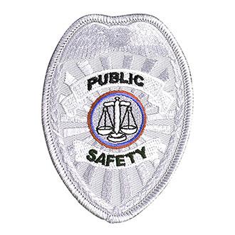 Penn Emblem Public Safety Badge Emblem (Standard Finish)