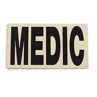 Infrared IR Medic Identification Patch