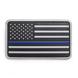 """5ive Star Gear """"Thin Blue Line Flag"""" Morale Patch"""