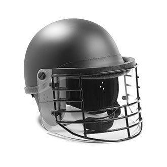 Premier Crown 906C Riot Duty Helmet with Steel Grid