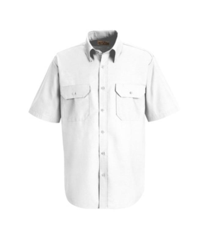 Red Kap Short Sleeve Dress Uniform Shirt