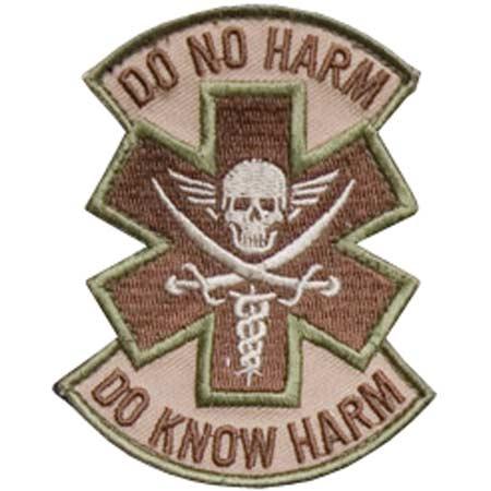 Mil-Spec Monkey Do No Harm Pirate Patch