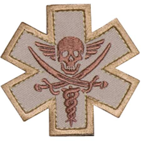 Mil-Spec Monkey Tactical Medic Pirate Patch