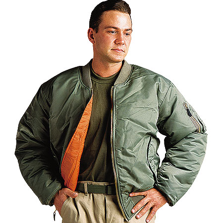 Fox Outdoor Products MA-1 Style Flight Jacket