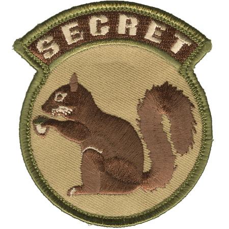 Mil-Spec Monkey Secret Squirrel Patch