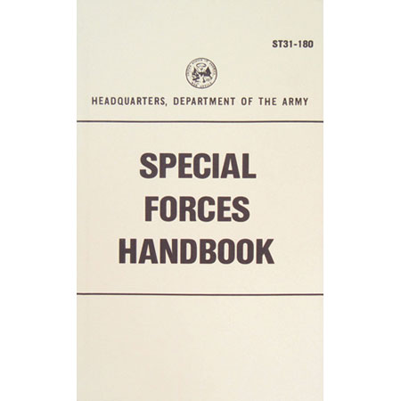 Fox Tactical U.S. Government Manual Hand to Hand Fighting