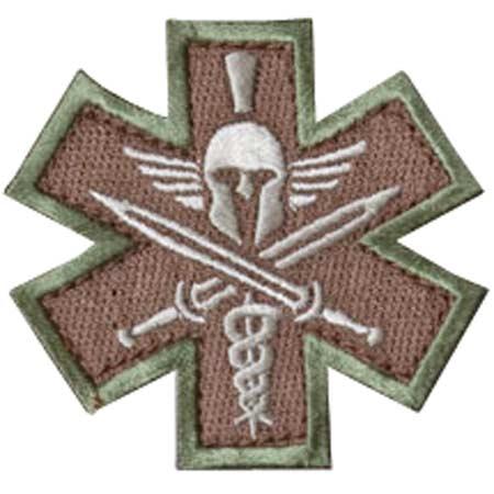 Mil-Spec Monkey Tactical Medic Spartan Patch